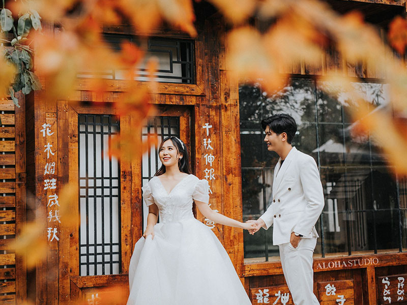 Chụp ảnh cưới phim trường tại Nui Wedding