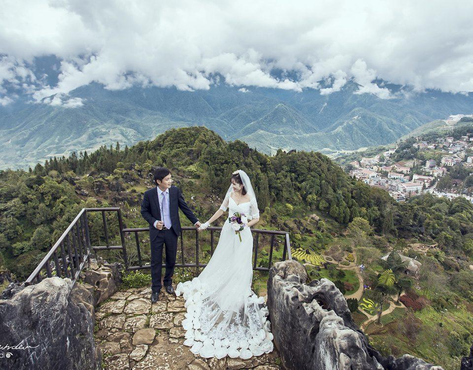 Ảnh cưới ngoại cảnh tại Sapa