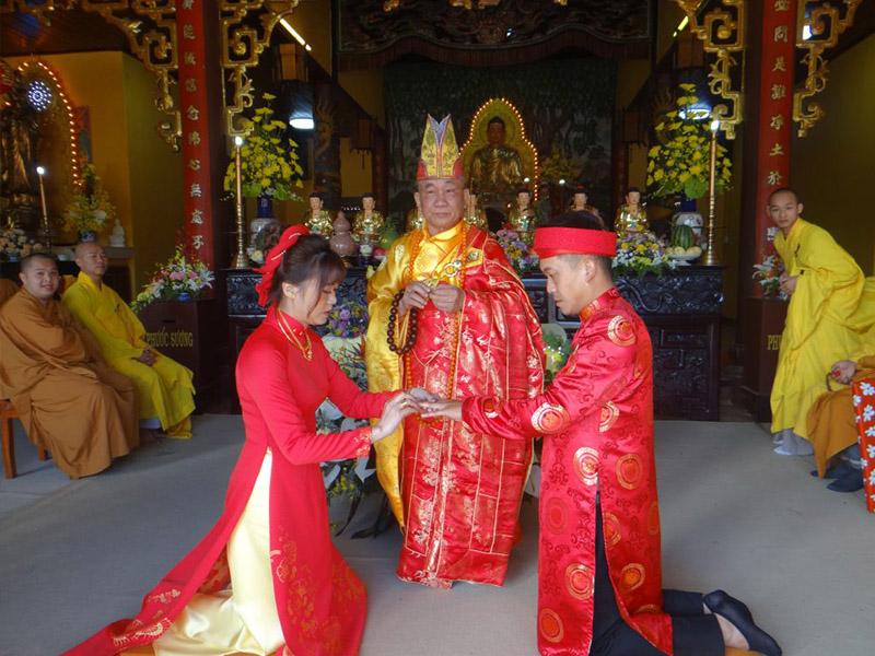 Lễ hằng thuận của các cặp đôi theo tín ngưỡng Phật giáo