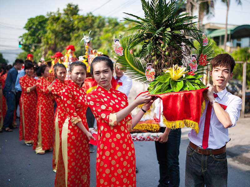 Đám cưới truyền thống nước ta