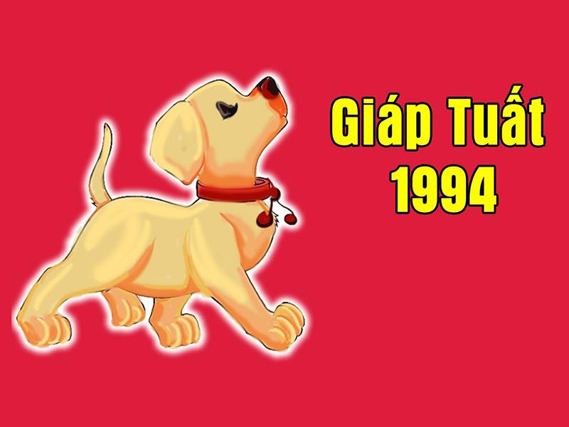 Con chó là con giá đại diện cho cho năm Giáp Tuất