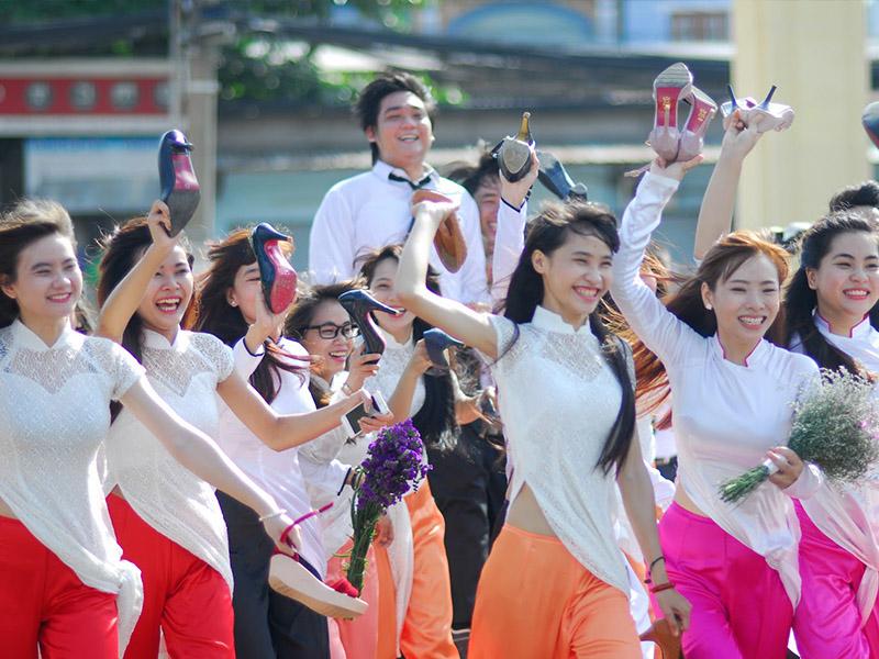 Phong cách sinh viên truyền thống nhưng năng động