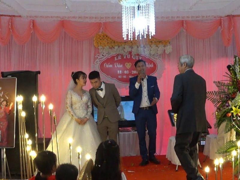 Dẫn chương trình tiệc cưới
