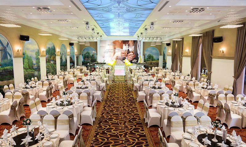 Trung tâm tiệc cưới Metropole tọa lạc tại Lý Chính Thắng
