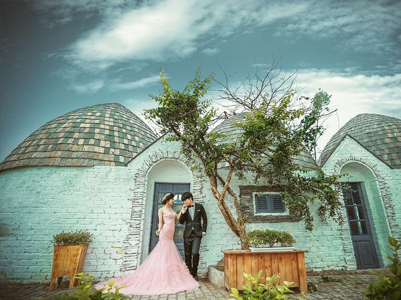 Các cặp đôi có thể lựa chọn phim trường này để chụp album cướii