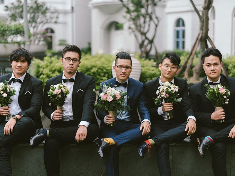 Concept chụp ảnh cưới trắng đen