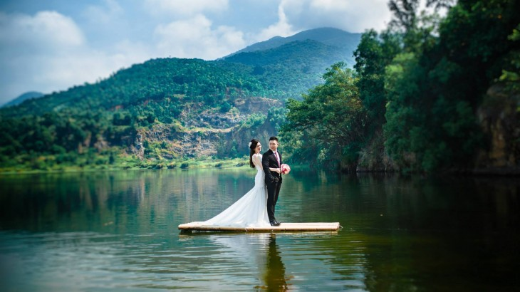 Hồ Đồng Chương - Điểm chụp ảnh cưới tại Ninh Bình