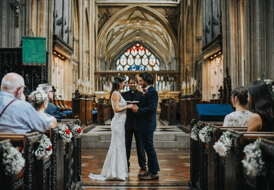 Lời thề của cô dâu chú rể trong nhà thờ