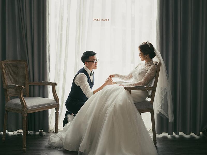 Rose studio - Studio chụp ảnh cưới theo phong cách sang trọng tại Tp.Vinh